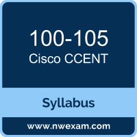 100-105 Syllabus, CCENT Exam Questions PDF, Cisco 100-105 Dumps Free, CCENT PDF, 100-105 Dumps, 100-105 PDF, CCENT VCE, 100-105 Questions PDF, Cisco CCENT Questions PDF, Cisco 100-105 VCE
