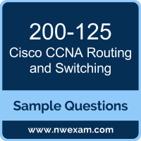 CCNA Routing and Switching Dumps, 200-125 Dumps, Cisco CCNA PDF, 200-125 PDF, CCNA Routing and Switching VCE, Cisco CCNA Routing and Switching Questions PDF, Cisco Exam VCE, Cisco 200-125 VCE, CCNA Routing and Switching Cheat Sheet