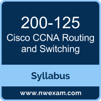 200-125 Syllabus, CCNA Routing and Switching Exam Questions PDF, Cisco 200-125 Dumps Free, CCNA Routing and Switching PDF, 200-125 Dumps, 200-125 PDF, CCNA Routing and Switching VCE, 200-125 Questions PDF, Cisco CCNA Routing and Switching Questions PDF, Cisco 200-125 VCE