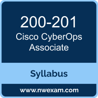 200-201 Syllabus, CyberOps Associate Exam Questions PDF, Cisco 200-201 Dumps Free, CyberOps Associate PDF, 200-201 Dumps, 200-201 PDF, CyberOps Associate VCE, 200-201 Questions PDF, Cisco CyberOps Associate Questions PDF, Cisco 200-201 VCE