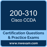 CCDA Dumps, CCDA PDF, Cisco DESGN Dumps, 200-310 PDF, CCDA Braindumps, 200-310 Questions PDF, Cisco Exam VCE, Cisco 200-310 VCE, CCDA Cheat Sheet