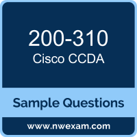 CCDA Dumps, 200-310 Dumps, Cisco DESGN PDF, 200-310 PDF, CCDA VCE, Cisco CCDA Questions PDF, Cisco Exam VCE, Cisco 200-310 VCE, CCDA Cheat Sheet