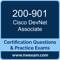 DevNet Associate Dumps, DevNet Associate PDF, Cisco DEVASC Dumps, 200-901 PDF, DevNet Associate Braindumps, 200-901 Questions PDF, Cisco Exam VCE, Cisco 200-901 VCE, DevNet Associate Cheat Sheet