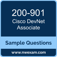 DevNet Associate Dumps, 200-901 Dumps, Cisco DEVASC PDF, 200-901 PDF, DevNet Associate VCE, Cisco DevNet Associate Questions PDF, Cisco Exam VCE, Cisco 200-901 VCE, DevNet Associate Cheat Sheet