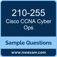 Free Cisco CCNA Cyber Ops (SECOPS) Certification Sample Questions
