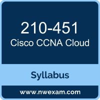 210-451 Syllabus, CCNA Cloud Exam Questions PDF, Cisco 210-451 Dumps Free, CCNA Cloud PDF, 210-451 Dumps, 210-451 PDF, CCNA Cloud VCE, 210-451 Questions PDF, Cisco CCNA Cloud Questions PDF, Cisco 210-451 VCE