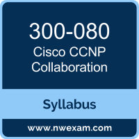 300-080 Syllabus, CCNP Collaboration Exam Questions PDF, Cisco 300-080 Dumps Free, CCNP Collaboration PDF, 300-080 Dumps, 300-080 PDF, CCNP Collaboration VCE, 300-080 Questions PDF, Cisco CCNP Collaboration Questions PDF, Cisco 300-080 VCE