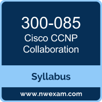 300-085 Syllabus, CCNP Collaboration Exam Questions PDF, Cisco 300-085 Dumps Free, CCNP Collaboration PDF, 300-085 Dumps, 300-085 PDF, CCNP Collaboration VCE, 300-085 Questions PDF, Cisco CCNP Collaboration Questions PDF, Cisco 300-085 VCE