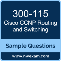 CCNP Routing and Switching Dumps, 300-115 Dumps, Cisco SWITCH PDF, 300-115 PDF, CCNP Routing and Switching VCE, Cisco CCNP Routing and Switching Questions PDF, Cisco Exam VCE, Cisco 300-115 VCE, CCNP Routing and Switching Cheat Sheet