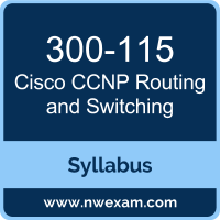 300-115 Syllabus, CCNP Routing and Switching Exam Questions PDF, Cisco 300-115 Dumps Free, CCNP Routing and Switching PDF, 300-115 Dumps, 300-115 PDF, CCNP Routing and Switching VCE, 300-115 Questions PDF, Cisco CCNP Routing and Switching Questions PDF, Cisco 300-115 VCE