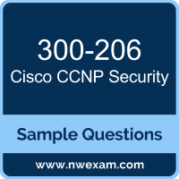 Free Cisco CCNP Security (SENSS) Certification Sample Questions