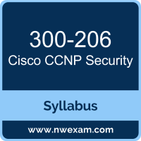 300-206 Syllabus, CCNP Security Exam Questions PDF, Cisco 300-206 Dumps Free, CCNP Security PDF, 300-206 Dumps, 300-206 PDF, CCNP Security VCE, 300-206 Questions PDF, Cisco CCNP Security Questions PDF, Cisco 300-206 VCE