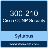 300-210 Syllabus, CCNP Security Exam Questions PDF, Cisco 300-210 Dumps Free, CCNP Security PDF, 300-210 Dumps, 300-210 PDF, CCNP Security VCE, 300-210 Questions PDF, Cisco CCNP Security Questions PDF, Cisco 300-210 VCE