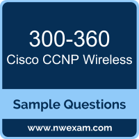 CCNP Wireless Dumps, 300-360 Dumps, Cisco WIDESIGN PDF, 300-360 PDF, CCNP Wireless VCE, Cisco CCNP Wireless Questions PDF, Cisco Exam VCE, Cisco 300-360 VCE, CCNP Wireless Cheat Sheet