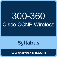 300-360 Syllabus, CCNP Wireless Exam Questions PDF, Cisco 300-360 Dumps Free, CCNP Wireless PDF, 300-360 Dumps, 300-360 PDF, CCNP Wireless VCE, 300-360 Questions PDF, Cisco CCNP Wireless Questions PDF, Cisco 300-360 VCE