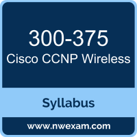 300-375 Syllabus, CCNP Wireless Exam Questions PDF, Cisco 300-375 Dumps Free, CCNP Wireless PDF, 300-375 Dumps, 300-375 PDF, CCNP Wireless VCE, 300-375 Questions PDF, Cisco CCNP Wireless Questions PDF, Cisco 300-375 VCE