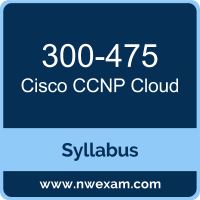 300-475 Syllabus, CCNP Cloud Exam Questions PDF, Cisco 300-475 Dumps Free, CCNP Cloud PDF, 300-475 Dumps, 300-475 PDF, CCNP Cloud VCE, 300-475 Questions PDF, Cisco CCNP Cloud Questions PDF, Cisco 300-475 VCE