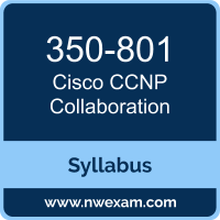 350-801 Syllabus, CCNP Collaboration Exam Questions PDF, Cisco 350-801 Dumps Free, CCNP Collaboration PDF, 350-801 Dumps, 350-801 PDF, CCNP Collaboration VCE, 350-801 Questions PDF, Cisco CCNP Collaboration Questions PDF, Cisco 350-801 VCE