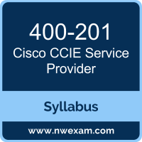 400-201 Syllabus, CCIE Service Provider Exam Questions PDF, Cisco 400-201 Dumps Free, CCIE Service Provider PDF, 400-201 Dumps, 400-201 PDF, CCIE Service Provider VCE, 400-201 Questions PDF, Cisco CCIE Service Provider Questions PDF, Cisco 400-201 VCE
