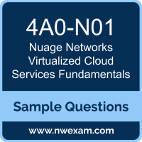 Virtualized Cloud Services Fundamentals Dumps, 4A0-N01 Dumps, Nuage Networks VCS Fundamentals PDF, 4A0-N01 PDF, Virtualized Cloud Services Fundamentals VCE, Nuage Networks Virtualized Cloud Services Fundamentals Questions PDF, Nuage Networks Exam VCE, Nuage Networks 4A0-N01 VCE, Virtualized Cloud Services Fundamentals Cheat Sheet