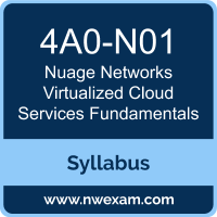 4A0-N01 Syllabus, Virtualized Cloud Services Fundamentals Exam Questions PDF, Nuage Networks 4A0-N01 Dumps Free, Virtualized Cloud Services Fundamentals PDF, 4A0-N01 Dumps, 4A0-N01 PDF, Virtualized Cloud Services Fundamentals VCE, 4A0-N01 Questions PDF, Nuage Networks Virtualized Cloud Services Fundamentals Questions PDF, Nuage Networks 4A0-N01 VCE