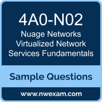 Virtualized Network Services Fundamentals Dumps, 4A0-N02 Dumps, Nuage Networks VNS Fundamentals PDF, 4A0-N02 PDF, Virtualized Network Services Fundamentals VCE, Nuage Networks Virtualized Network Services Fundamentals Questions PDF, Nuage Networks Exam VCE, Nuage Networks 4A0-N02 VCE, Virtualized Network Services Fundamentals Cheat Sheet