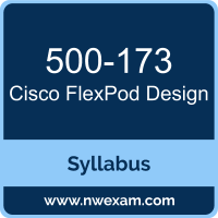 500-173 Syllabus, FlexPod Design Exam Questions PDF, Cisco 500-173 Dumps Free, FlexPod Design PDF, 500-173 Dumps, 500-173 PDF, FlexPod Design VCE, 500-173 Questions PDF, Cisco FlexPod Design Questions PDF, Cisco 500-173 VCE