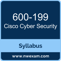 600-199 Syllabus, Cyber Security Exam Questions PDF, Cisco 600-199 Dumps Free, Cyber Security PDF, 600-199 Dumps, 600-199 PDF, Cyber Security VCE, 600-199 Questions PDF, Cisco Cyber Security Questions PDF, Cisco 600-199 VCE