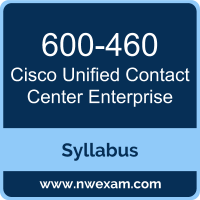 600-460 Syllabus, Unified Contact Center Enterprise Exam Questions PDF, Cisco 600-460 Dumps Free, Unified Contact Center Enterprise PDF, 600-460 Dumps, 600-460 PDF, Unified Contact Center Enterprise VCE, 600-460 Questions PDF, Cisco Unified Contact Center Enterprise Questions PDF, Cisco 600-460 VCE