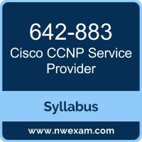 642-883 Syllabus, CCNP Service Provider Exam Questions PDF, Cisco 642-883 Dumps Free, CCNP Service Provider PDF, 642-883 Dumps, 642-883 PDF, CCNP Service Provider VCE, 642-883 Questions PDF, Cisco CCNP Service Provider Questions PDF, Cisco 642-883 VCE