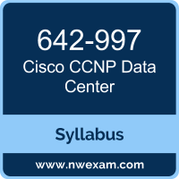 642-997 Syllabus, CCNP Data Center Exam Questions PDF, Cisco 642-997 Dumps Free, CCNP Data Center PDF, 642-997 Dumps, 642-997 PDF, CCNP Data Center VCE, 642-997 Questions PDF, Cisco CCNP Data Center Questions PDF, Cisco 642-997 VCE