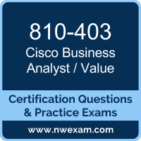 Business Analyst / Value Dumps, Business Analyst / Value PDF, Cisco OUTCOMES Dumps, 810-403 PDF, Business Analyst / Value Braindumps, 810-403 Questions PDF, Cisco Exam VCE, Cisco 810-403 VCE, Business Analyst / Value Cheat Sheet