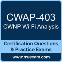 Wi-Fi Analysis Dumps, Wi-Fi Analysis PDF, CWNP CWAP Dumps, CWAP-403 PDF, Wi-Fi Analysis Braindumps, CWAP-403 Questions PDF, CWNP Exam VCE, CWNP CWAP-403 VCE, Wi-Fi Analysis Cheat Sheet