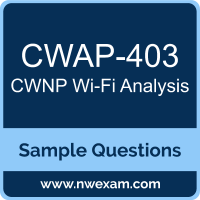 Wi-Fi Analysis Dumps, CWAP-403 Dumps, CWNP CWAP PDF, CWAP-403 PDF, Wi-Fi Analysis VCE, CWNP Wi-Fi Analysis Questions PDF, CWNP Exam VCE, CWNP CWAP-403 VCE, Wi-Fi Analysis Cheat Sheet