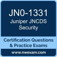 JNCDS Security Dumps, JNCDS Security PDF, Juniper JNCDS-SEC Dumps, JN0-1331 PDF, JNCDS Security Braindumps, JN0-1331 Questions PDF, Juniper Exam VCE, Juniper JN0-1331 VCE, JNCDS Security Cheat Sheet