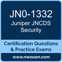 JNCDS Security Dumps, JNCDS Security PDF, Juniper JNCDS-SEC Dumps, JN0-1332 PDF, JNCDS Security Braindumps, JN0-1332 Questions PDF, Juniper Exam VCE, Juniper JN0-1332 VCE, JNCDS Security Cheat Sheet