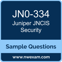 JNCIS Security Dumps, JN0-334 Dumps, Juniper JNCIS-SEC PDF, JN0-334 PDF, JNCIS Security VCE, Juniper JNCIS Security Questions PDF, Juniper Exam VCE, Juniper JN0-334 VCE, JNCIS Security Cheat Sheet