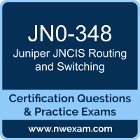 JNCIS Routing and Switching Dumps, JNCIS Routing and Switching PDF, Juniper JNCIS-ENT Dumps, JN0-348 PDF, JNCIS Routing and Switching Braindumps, JN0-348 Questions PDF, Juniper Exam VCE, Juniper JN0-348 VCE, JNCIS Routing and Switching Cheat Sheet