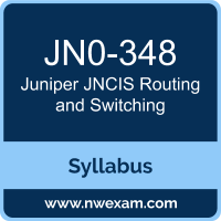 Juniper JNCIS-ENT Certification Exam Syllabus and Preparation Guide