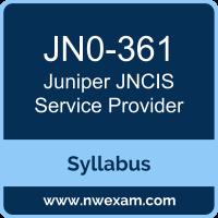 Juniper JNCIS-SP Certification Exam Syllabus and Preparation