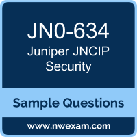 JNCIP Security Dumps, JN0-634 Dumps, Juniper JNCIP-SEC PDF, JN0-634 PDF, JNCIP Security VCE, Juniper JNCIP Security Questions PDF, Juniper Exam VCE, Juniper JN0-634 VCE, JNCIP Security Cheat Sheet