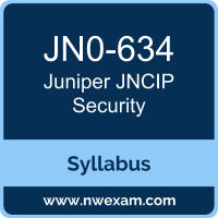 JN0-634 Syllabus, JNCIP Security Exam Questions PDF, Juniper JN0-634 Dumps Free, JNCIP Security PDF, JN0-634 Dumps, JN0-634 PDF, JNCIP Security VCE, JN0-634 Questions PDF, Juniper JNCIP Security Questions PDF, Juniper JN0-634 VCE