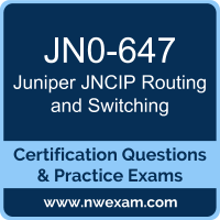 JNCIP Routing and Switching Dumps, JNCIP Routing and Switching PDF, Juniper JNCIP-ENT Dumps, JN0-647 PDF, JNCIP Routing and Switching Braindumps, JN0-647 Questions PDF, Juniper Exam VCE, Juniper JN0-647 VCE, JNCIP Routing and Switching Cheat Sheet