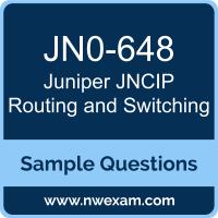 JNCIP Routing and Switching Dumps, JN0-648 Dumps, Juniper JNCIP-ENT PDF, JN0-648 PDF, JNCIP Routing and Switching VCE, Juniper JNCIP Routing and Switching Questions PDF, Juniper Exam VCE, Juniper JN0-648 VCE, JNCIP Routing and Switching Cheat Sheet