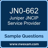 Free Juniper JNCIP Service Provider (JNCIP-SP) Certification