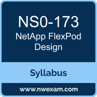 NS0-173 Syllabus, FlexPod Design Exam Questions PDF, NetApp NS0-173 Dumps Free, FlexPod Design PDF, NS0-173 Dumps, NS0-173 PDF, FlexPod Design VCE, NS0-173 Questions PDF, NetApp FlexPod Design Questions PDF, NetApp NS0-173 VCE