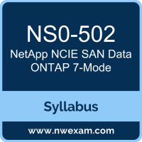 NS0-502 Syllabus, NCIE SAN Data ONTAP 7-Mode Exam Questions PDF, NetApp NS0-502 Dumps Free, NCIE SAN Data ONTAP 7-Mode PDF, NS0-502 Dumps, NS0-502 PDF, NCIE SAN Data ONTAP 7-Mode VCE, NS0-502 Questions PDF, NetApp NCIE SAN Data ONTAP 7-Mode Questions PDF, NetApp NS0-502 VCE