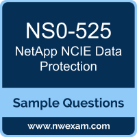 NCIE Data Protection Dumps, NS0-525 Dumps, NetApp NCIE-DP PDF, NS0-525 PDF, NCIE Data Protection VCE, NetApp NCIE Data Protection Questions PDF, NetApp Exam VCE, NetApp NS0-525 VCE, NCIE Data Protection Cheat Sheet