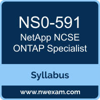 NS0-591 Syllabus, NCSE ONTAP Specialist Exam Questions PDF, NetApp NS0-591 Dumps Free, NCSE ONTAP Specialist PDF, NS0-591 Dumps, NS0-591 PDF, NCSE ONTAP Specialist VCE, NS0-591 Questions PDF, NetApp NCSE ONTAP Specialist Questions PDF, NetApp NS0-591 VCE