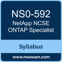NS0-592 Syllabus, NCSE ONTAP Specialist Exam Questions PDF, NetApp NS0-592 Dumps Free, NCSE ONTAP Specialist PDF, NS0-592 Dumps, NS0-592 PDF, NCSE ONTAP Specialist VCE, NS0-592 Questions PDF, NetApp NCSE ONTAP Specialist Questions PDF, NetApp NS0-592 VCE